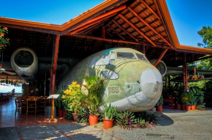El Avion Restaurant, Manuel Antonio