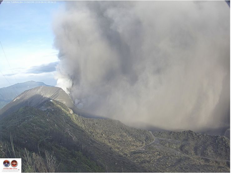 June 2nd Big Eruption (Ovsicori UNA)