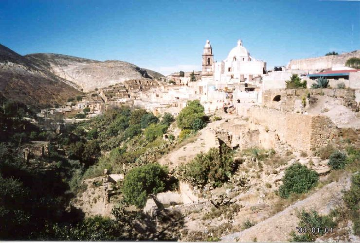 Real de Catorce Abandoned city