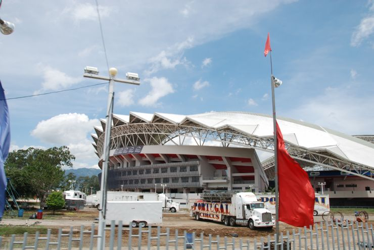 Parking Area at National Stadium