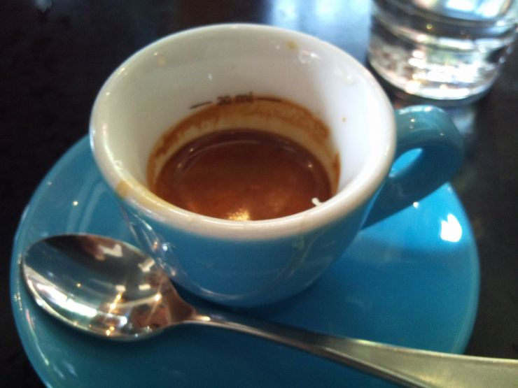 Espresso Shot at Proud Mary