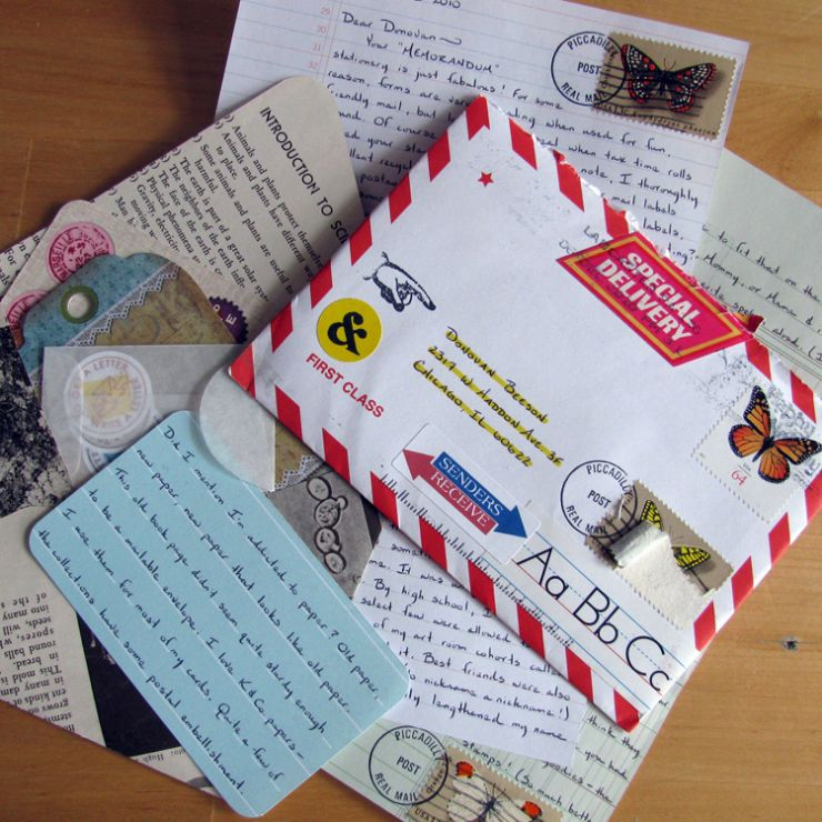 Yes, snail mail still exists