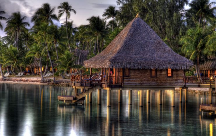 The Perfect Over Water Bungalow in Tahiti