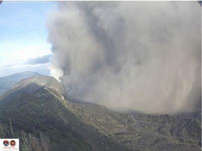 June 2nd Big Eruption Ovsicori UNA