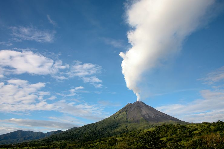 The Powerfull Arenal Volcano