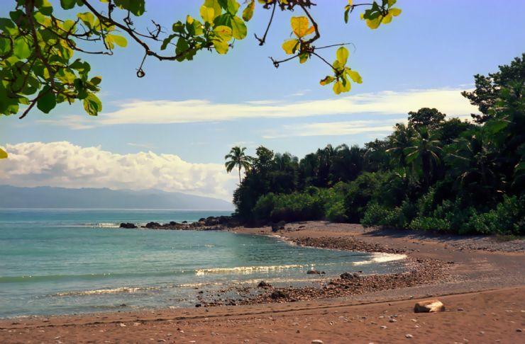 Remote Matapalo Beach