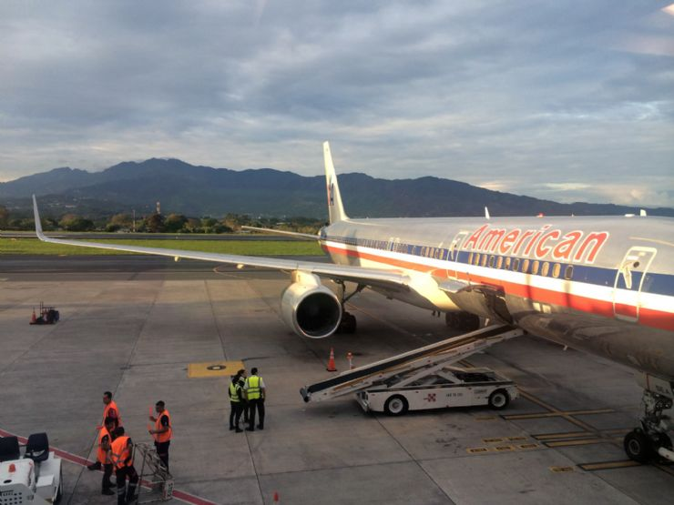 Saying Goodbye to Costa Rica from San Jose International Airport