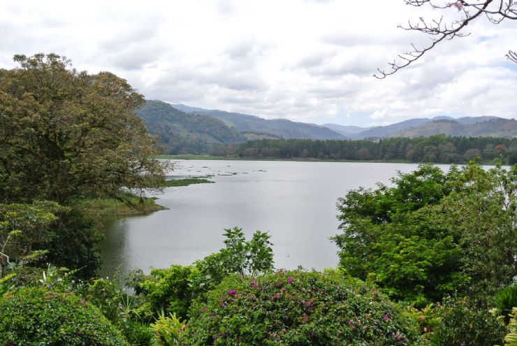 Beautiful Angostura Lagoon, Cartago