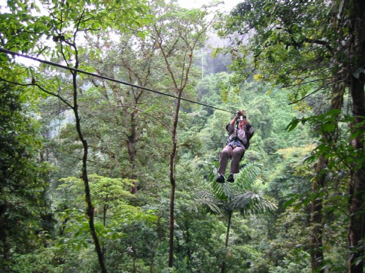 Canopy Tour near Arenal Volcano