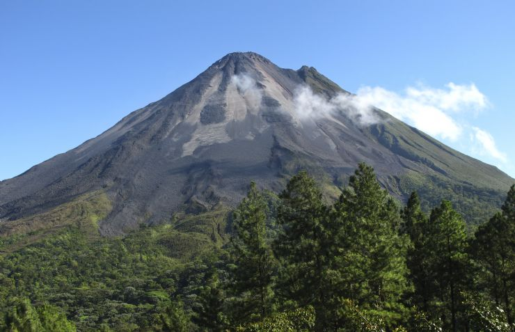 Eastern Side of Arenal Volcano