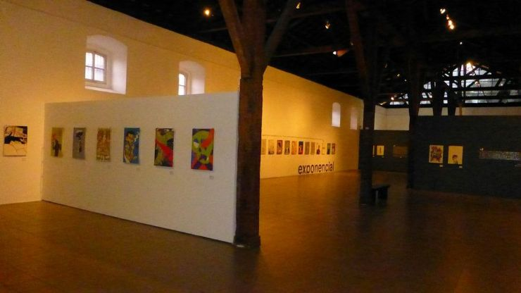 Art gallery at Contemporary Art Museum, San Jose
