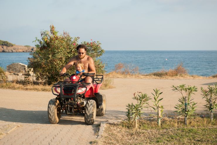 ATV tours offered at the beach