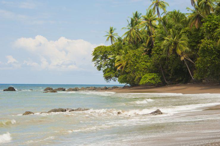 Beautiful beach at Drake Bay