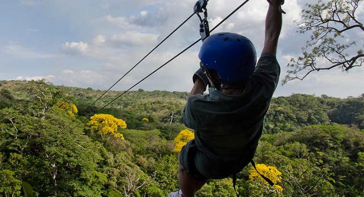 Zipline at Borinquen Canopy Adventure