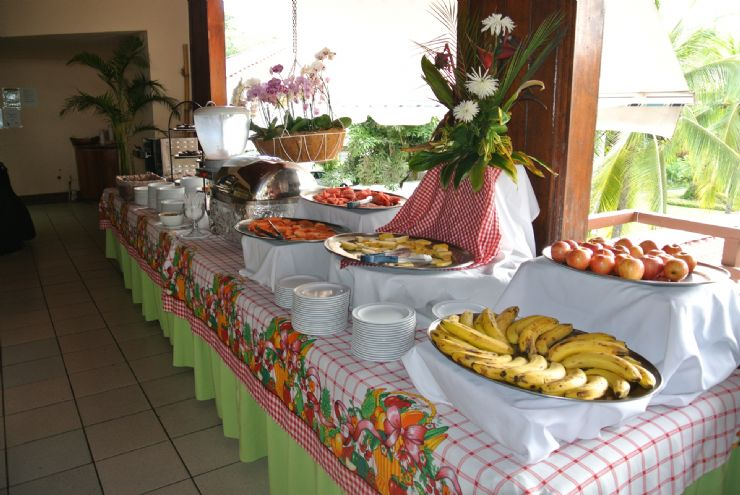 Breakfast buffet at Best Western Jaco Beach