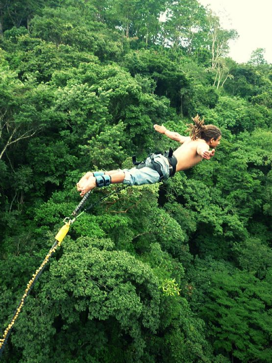 Bungee Jumping with Style