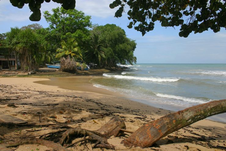 A beautiful beach of Cahuita