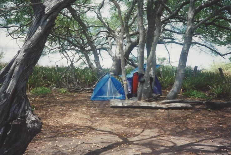 Camping at Playa Negra