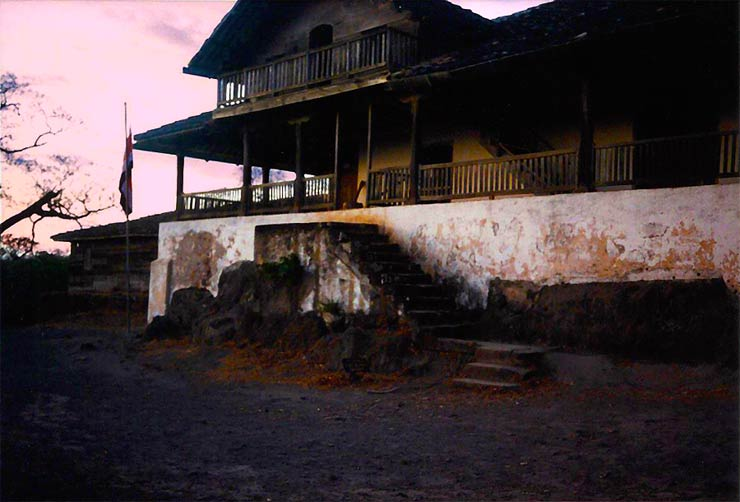 La casona de Santa Rosa used in the battle of William Walker in Santa Rosa National Park