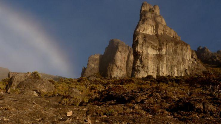 Beautiful sunset at Chirripo Peak