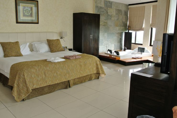 Deluxe Room at Royal Corin Hotel