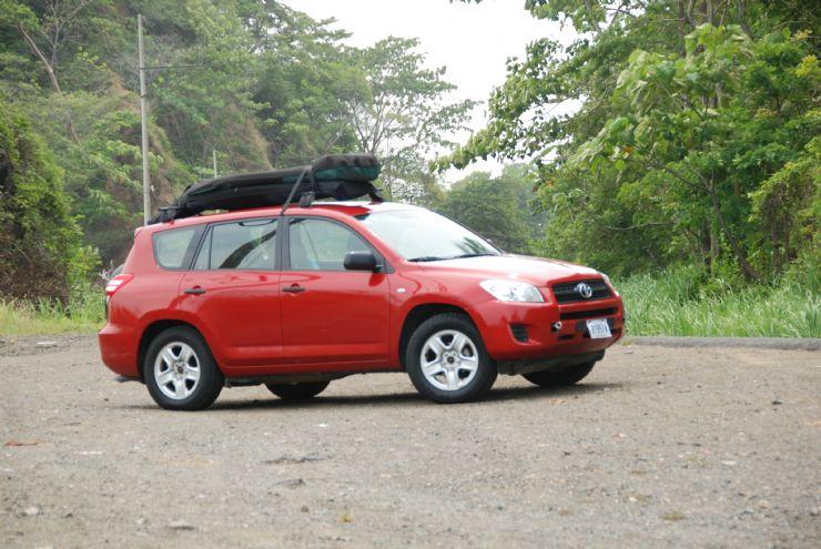 Car rental popular in Costa Rica