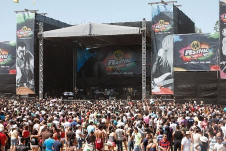 Concert at Fiesta de Palmares 2012 (courtesy of www.fiestaspalmares.com)