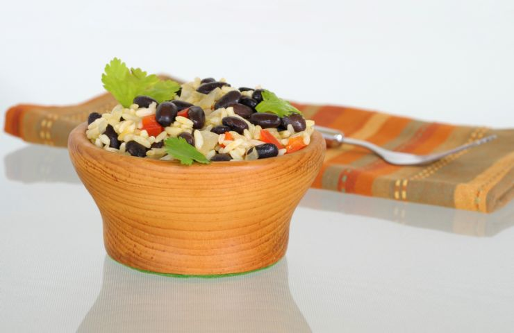 Typical Gallo Pinto of Costa Rica