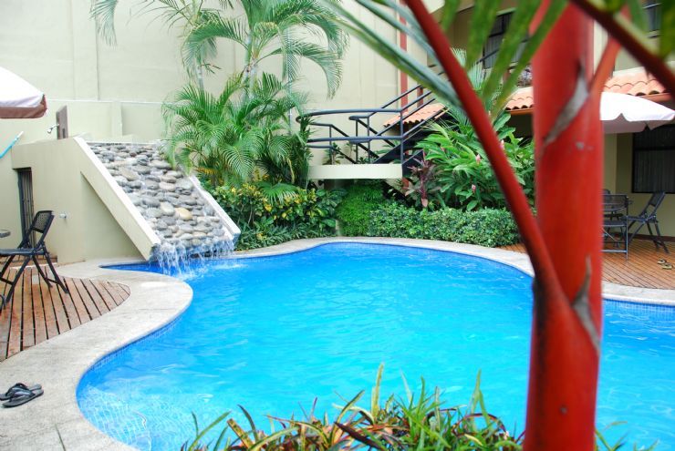 Beautiful Pool at Iguana Verde Bed & Breakfast
