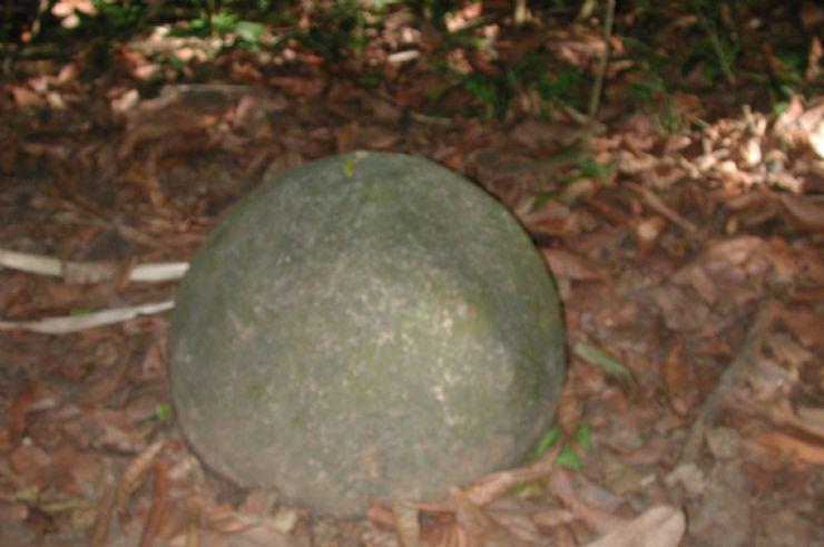 Pre Columbian Rock Sphere, Isla Del Caño