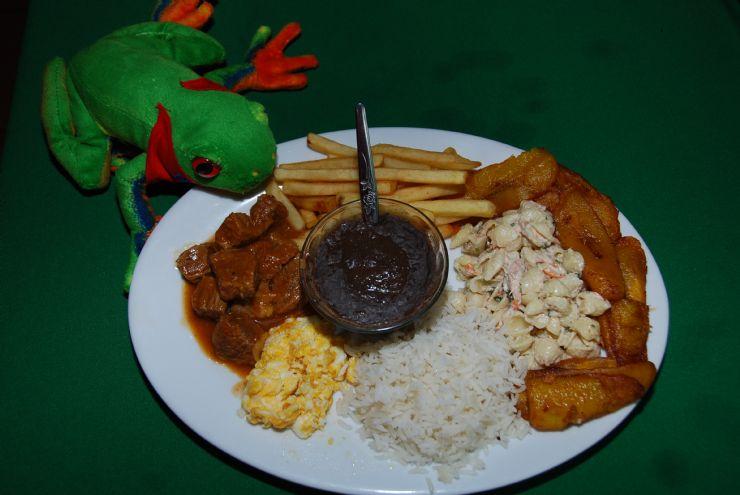 Javi the Frog & carne en salsa