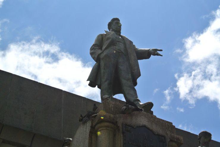 Ex president Juan Rafael Mora Porras