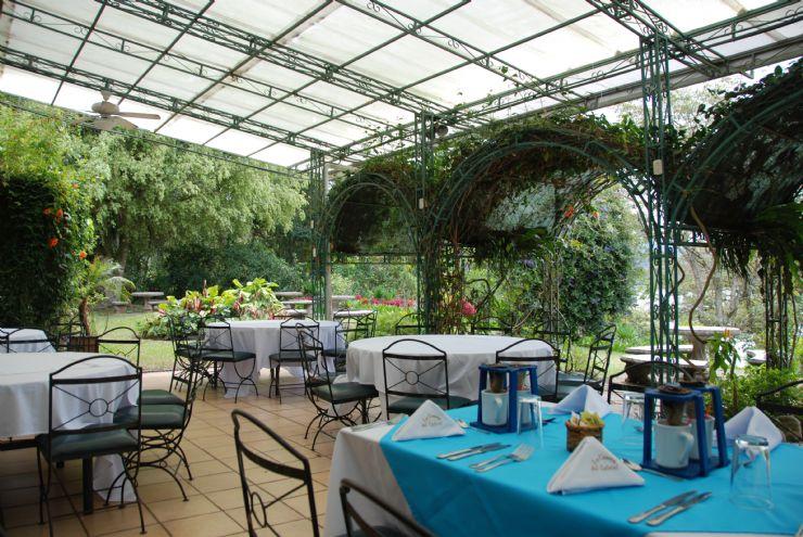 Beautiful La Casona del Cafetal Restaurant in Cachi