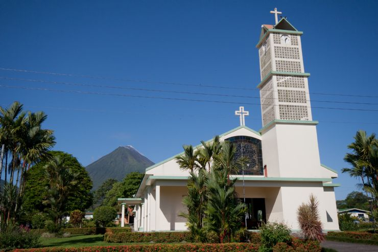 La Fortuna main church