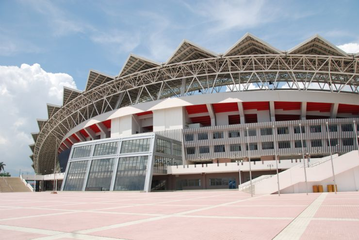 Main Entrance to the National Stadium