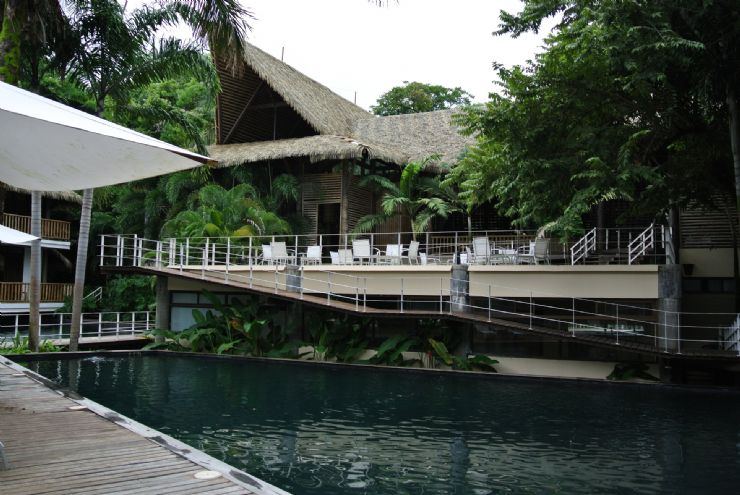Beautiful swimming pool at L'acqua Viva Resort and Spa