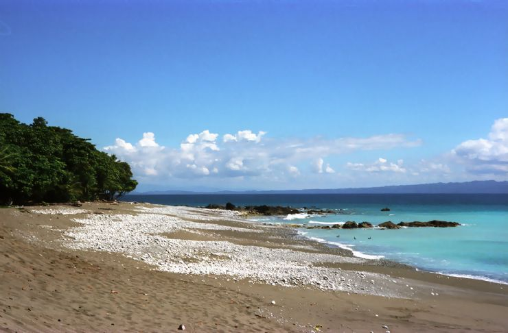 Low Tide at Cabo Matapalo