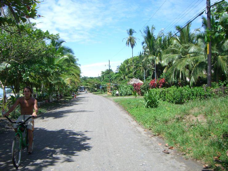 Road on the way to Gandoca - Manzanillo National Wildlife Refuge