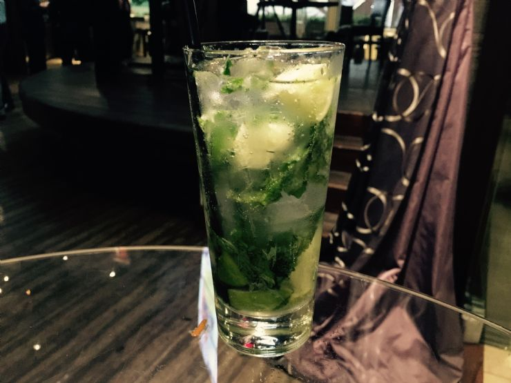 Refreshing Mojito at Hard Rock