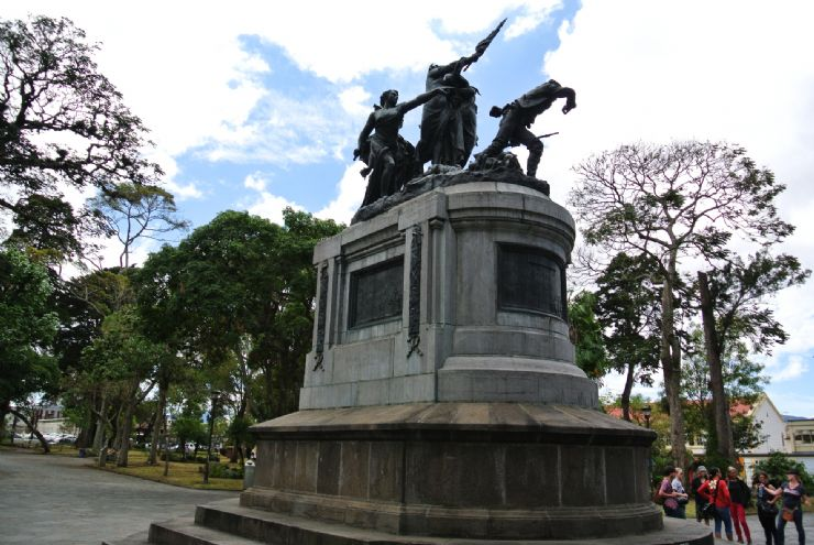 National Monument to war against Filibusteros of Nicaragua