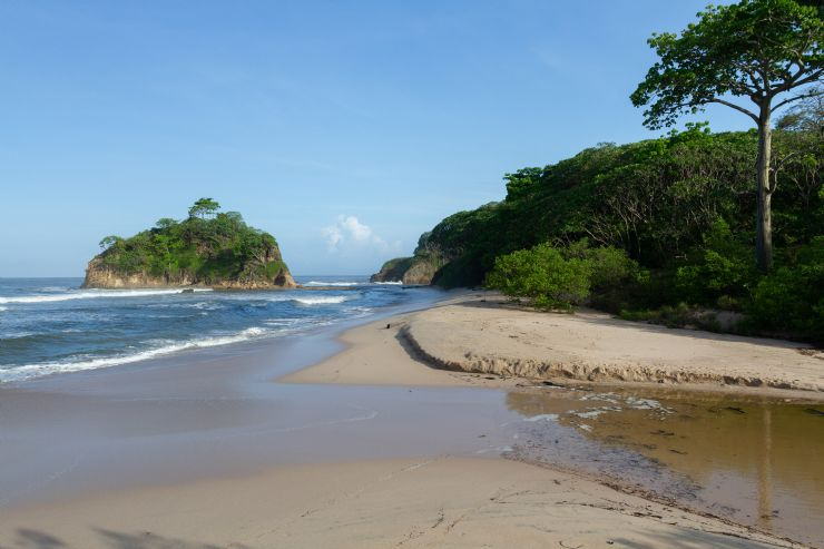 North side of Playa Pelada at Nosara
