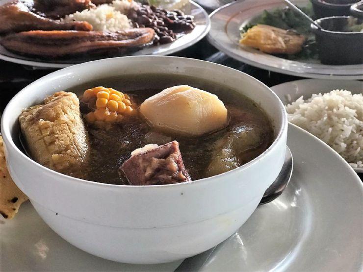 Delicious Olla de Carne in Santa Elena, Monteverde
