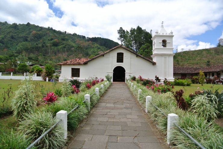 First Catholic church in Costa Rica, Orosi