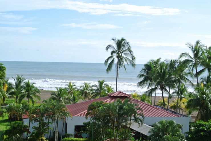 Pacific Ocean view from Best Western Jaco Beach