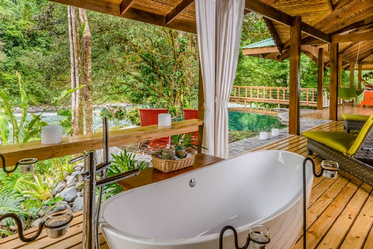 Pacuare Lodge - Jaguar Villa with private pool overlooking Pacuare River