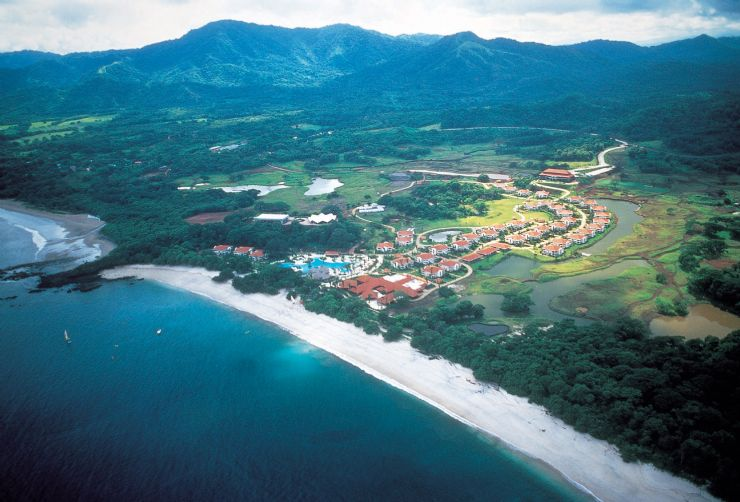 Playa Conchal Aerial View