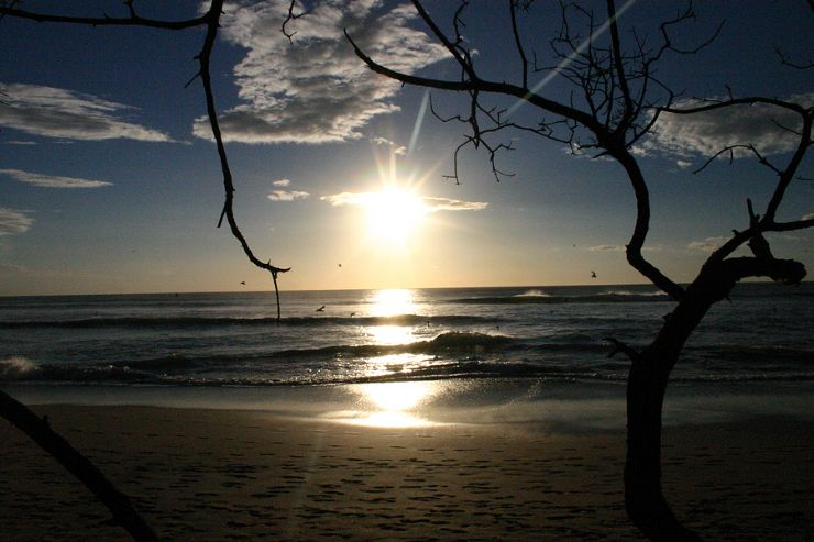Playa Grande sunset & surf
