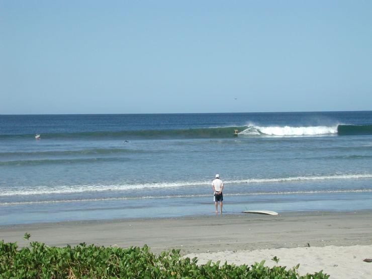 Surfer at Playa Tamarindo
