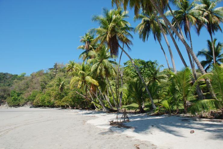 Playita Beach at Manuel Antonio
