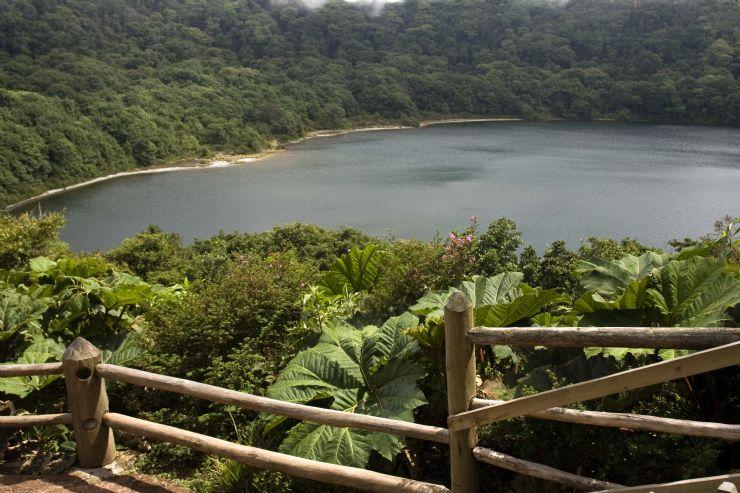 Botos Lagoon at Poas Volcano